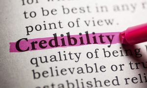 Building Credibility Starts Here